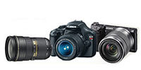 Amazon offering 4% Instant Rewards on DSLRs and lenses